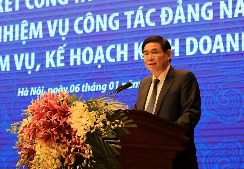 Chủ tịch HĐQT BIDV Phan Đức Tú phát biểu