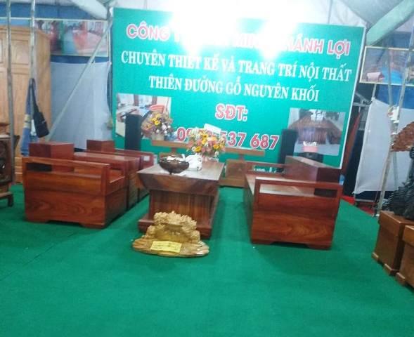 Hàng đồ gỗ của Công ty Minh Khang Lợi