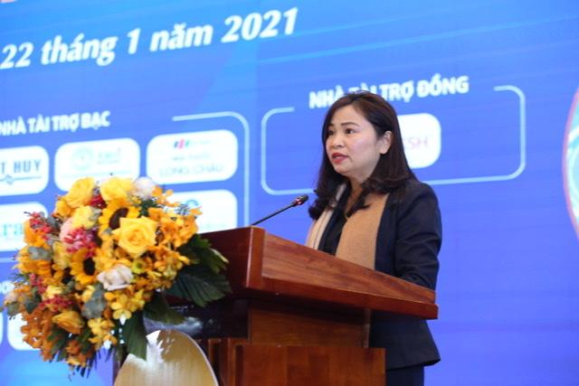 ThS.BS Nguyễn Thị Kim Len - Giám đốc bệnh viện MEDLATEC phát biểu tại hội nghị.