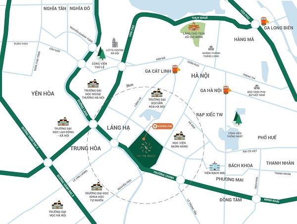 Vị trí kim cương của TNR The Nosta được quản lý và phát triển bởi TNR Holdings Vietnam (thành viên Tập đoàn TNG Holdings Vietnam với 25 năm và phát triển)