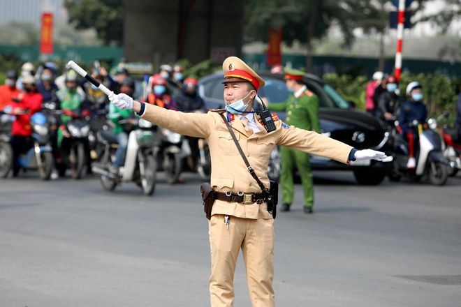 Đảm bảo giao thông xuyên suốt trong thời gian diễn ra Đại hội Đảng