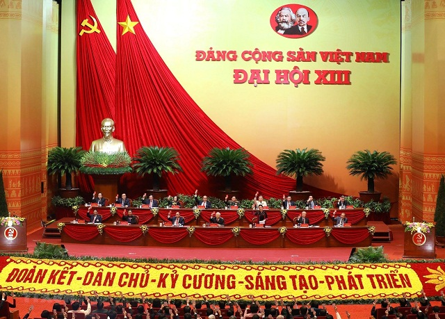 Đại hội đại biểu toàn quốc lần thứ XIII của Đảng họp phiên trù bị sáng 25/1, tại Trung tâm Hội nghị Quốc gia