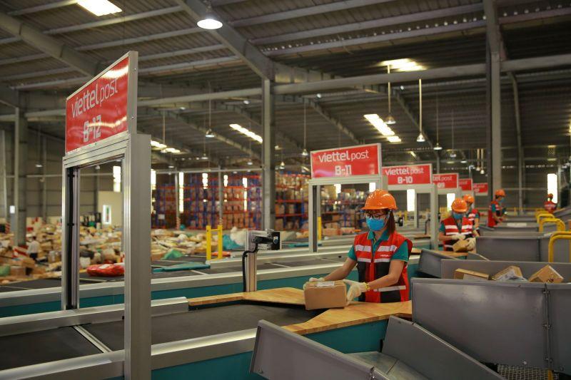 Trung tâm Logistics miền Nam được ứng dụng nhiều công nghệ hiện đại bậc nhất hiện nay trong vận hành và giám sát
