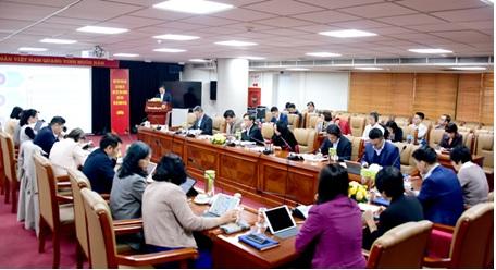 Ban Lãnh đạo VietinBank tham dự Buổi họp thông qua định hướng Chiến lược phát triển giai đoạn 2021 - 2030, tầm nhìn đến năm 2045 và Kế hoạch Kinh doanh Trung hạn 2021 - 2023.