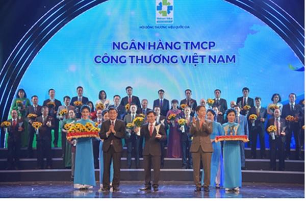 VietinBank được vinh danh Thương hiệu Quốc gia lần thứ 6 liên tiếp