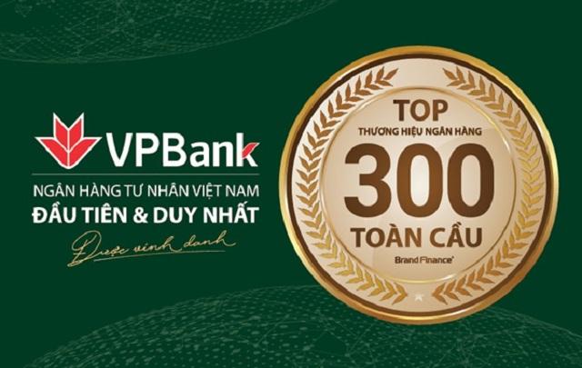 ngân hàng tư nhân Việt Nam đầu tiên lọt vào Top 300 ngân hàng có giá trị thương hiệu nhất thế giới.