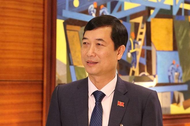 Đại biểu Nguyễn Minh Tuấn, Trưởng Ban Tuyên giáo Tỉnh ủy Yên Bái: