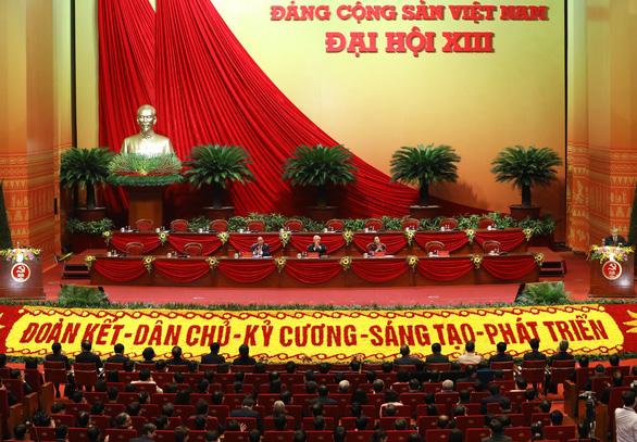 Đại hội đại biểu toàn quốc lần thứ XIII của Đảng chính thức khai mạc - Ảnh: TTXVN