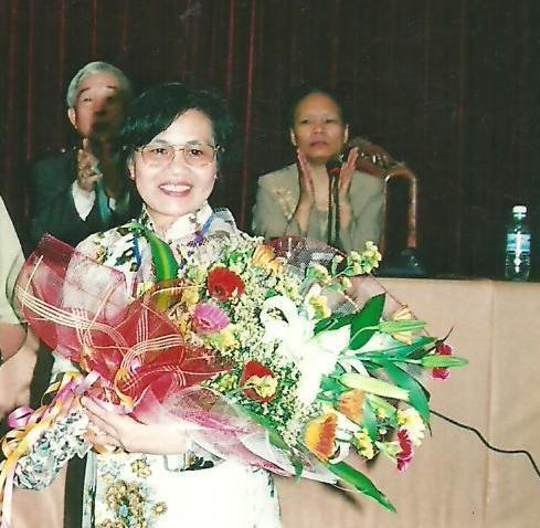 Nữ Giám đốc Trung tâm Vì Ngày Mai Lê Minh Hiền