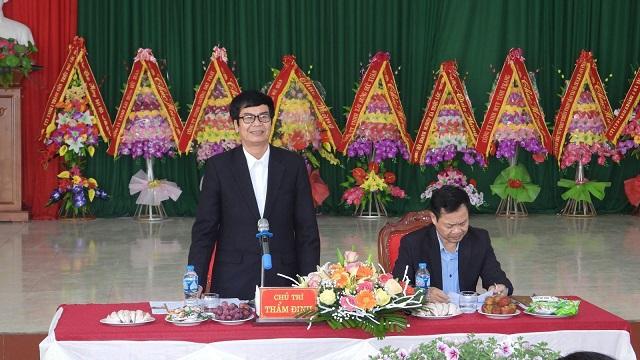 Ông Trần Đức Năng, Phó Chánh văn phòng Điều phối nông thôn mới tỉnh Thanh Hóa phát biểu tại hội nghị