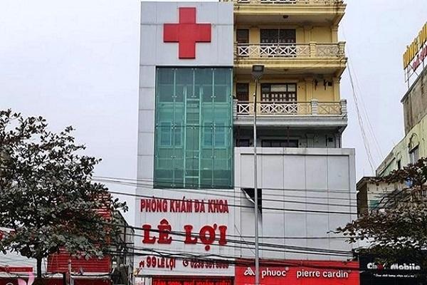 Phòng khám Đa khoa Lê Lợi vừa bị Sở Y tế Nghệ An