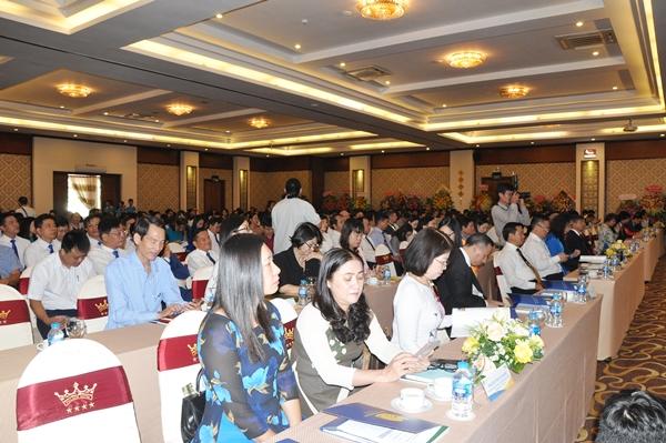 Đại biểu tham dự tại lễ kỷ niệm 15 năm thành lập BVU