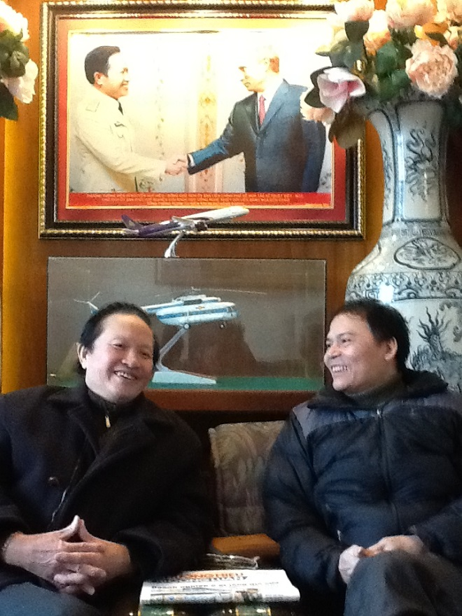 Phóng viên có cuộc trò chuyện cùng Viện sỹ, Thượng tướng Nguyễn Huy Hiệu