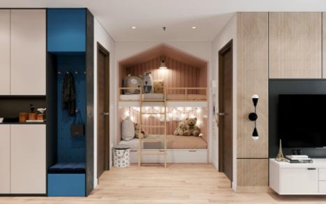 Thiết kế căn hộ +1 thông minh tại The Ruby Hạ Long