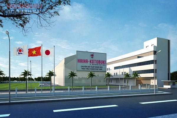 Nhà máy sản xuất bánh kẹo của Công ty TNHH Hải Hà - Kotobuki