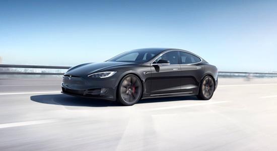 Một chiếc xe Tesla Model S
