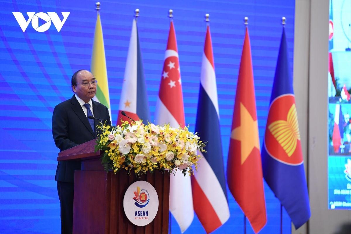 Năm 2020, Việt Nam đã hoàn thành trọng trách Chủ tịch ASEAN.