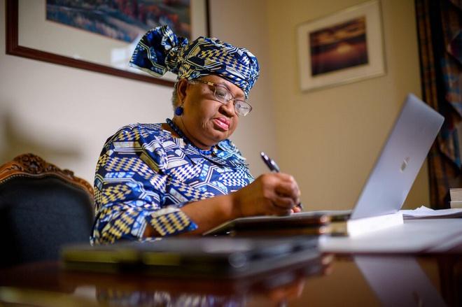 Tân Tổng Giám đốc WTO Ngozi Okonjo-Iweala (Ảnh: Getty)