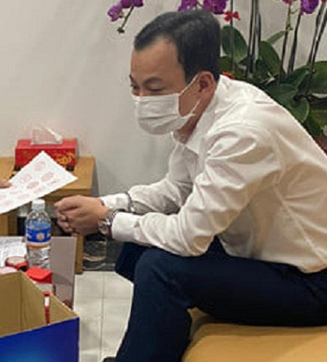 """Nghi can Lê Thành Trung là """"ông trùm"""" trong đường dây buôn lậu, sản xuất xăng giả"""