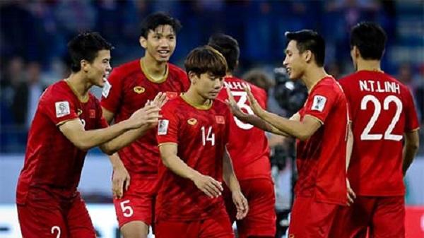Thầy trò HLV Park Hang Seo vẫn đứng thứ 14 châu Á