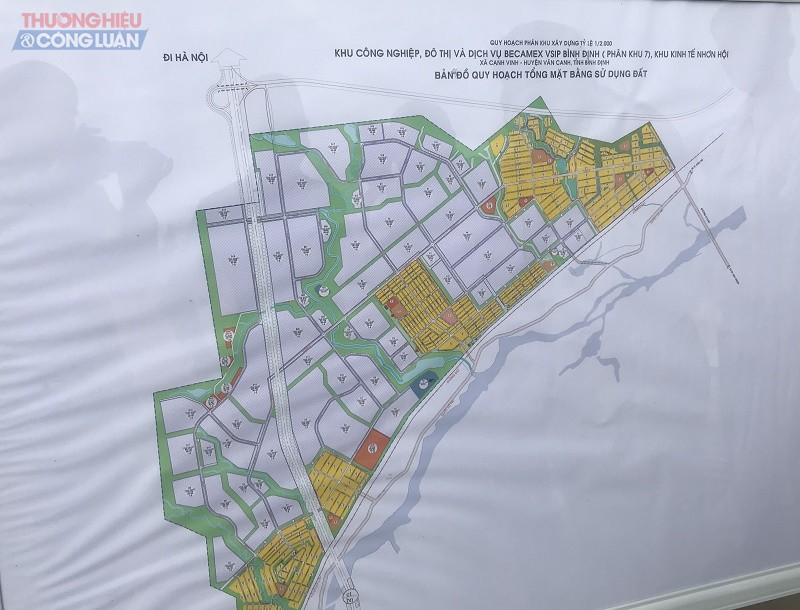 Quy hoạch Dự án KCN, Đô thị và Dịch vụ Becamex Vsip Bình Định