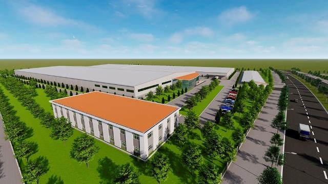 Phối cảnh dự án Nhà máy sản xuất vật liệu bán dẫn United States Enterprises