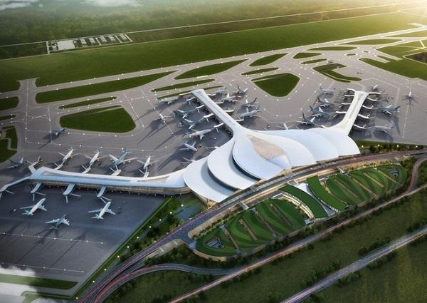 Phối cảnh sân bay quốc tế Long Thành