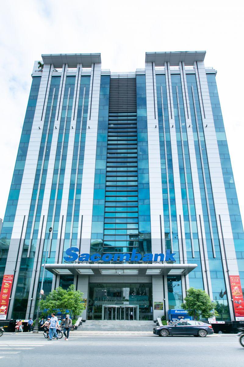 Trụ sở chính của Sacombank. (Ảnh: Sacombank).