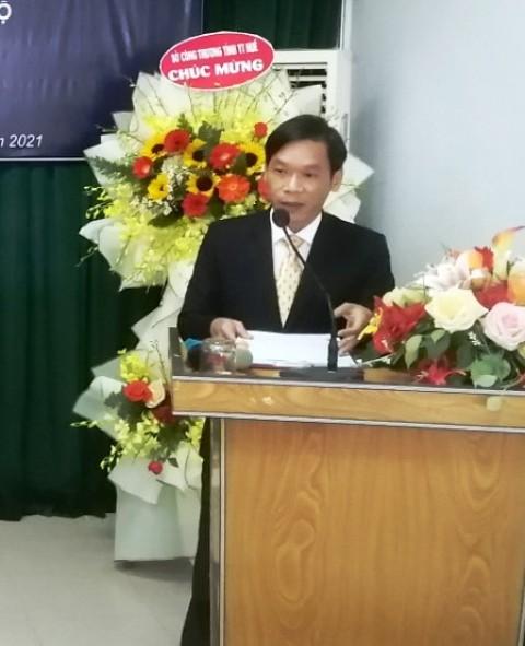 Ông Phan Hùng Sơn phát biểu nhận nhiệm vụ