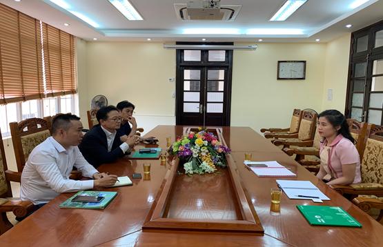 Trung tâm Nghiên cứu Xúc tiến và Hỗ trợ đầu tư tỉnh Vĩnh Phúc làm việc với Phòng Thương mại và Công nghiệp Hàn Quốc (KCCI)