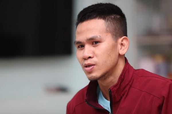 Anh Nguyễn Ngọc Mạnh, người cứu cháu bé 3 tuổi rơi từ tầng 12 chung cư