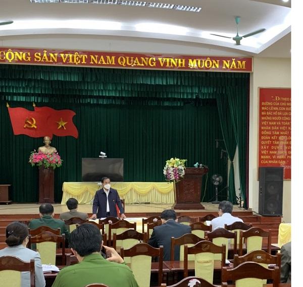 Phó Chủ tịch UBND tỉnh Hải Dương làm việc tại huyện Cẩm Giàng và huyện Kim Thành