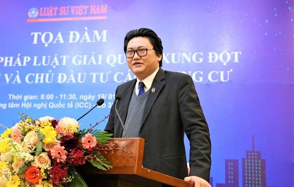 Luật sư Hoàng Tùng – Trưởng Văn phòng Luật sư Trung Hòa.
