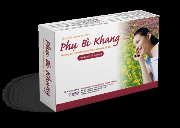 Thực phẩm bảo vệ sức khỏe Phụ Bì Khang – Hỗ trợ giảm triệu chứng mề đay, mẩn ngứa, dị ứng