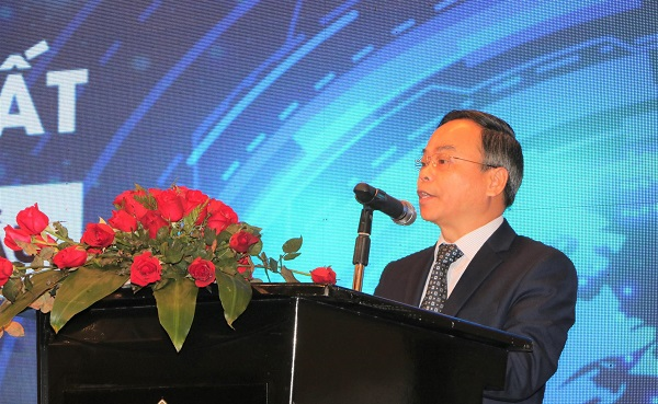 Ông Trần Văn Vinh - Tổng cục trưởng Tổng cục Tiêu chuẩn Đo lường Chất lượng (Bộ KH&CN) phát biểu khai mạc Hội thảo
