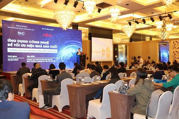 """Hội thảo """"Ứng dụng công nghệ để tối ưu hiệu quả sản xuất - Tương lai của nguồn cung ứng toàn cầu"""""""