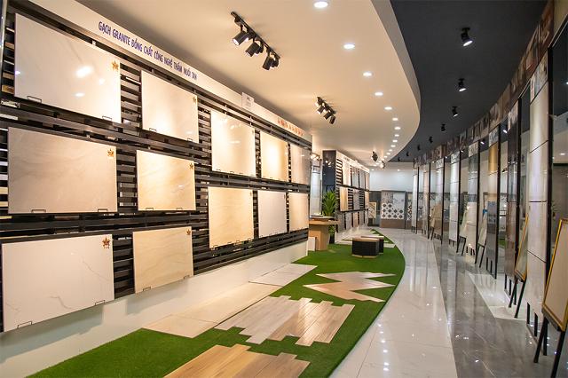 Khu vực trưng bày sản phẩm của CMC