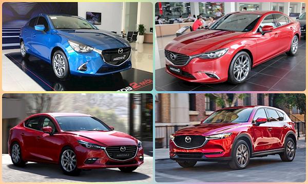 Nhiều mẫu xe Mazda đang được giảm giá mạnh
