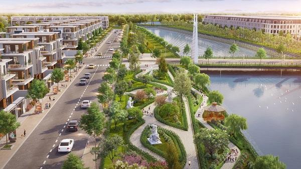 Khu công viên ven sông được thiết kế ấn tượng