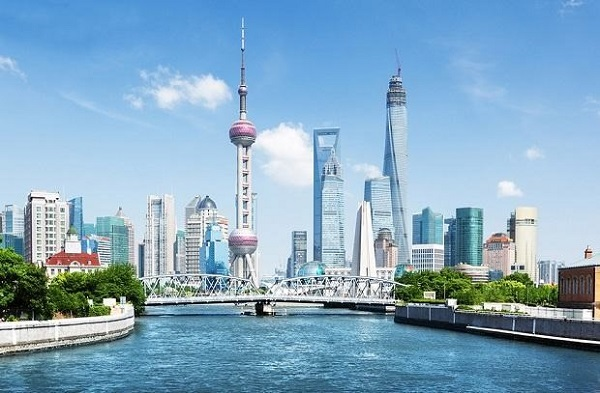 Thành phố cảng Thượng Hải với con Sông Hoàng Phố nền kinh tế phát triển bậc nhất Trung Quốc