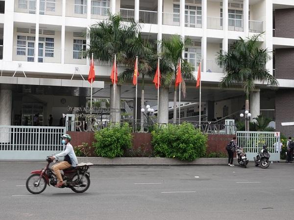 Trường THCS Nguyễn Văn Tố (P.14, Q.10, TP.HCM) - nơi xảy ra vụ việc