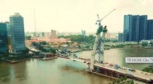 Cầu Thủ Thiêm 2 sẽ được thi công trở lại trước ngày 15/4.
