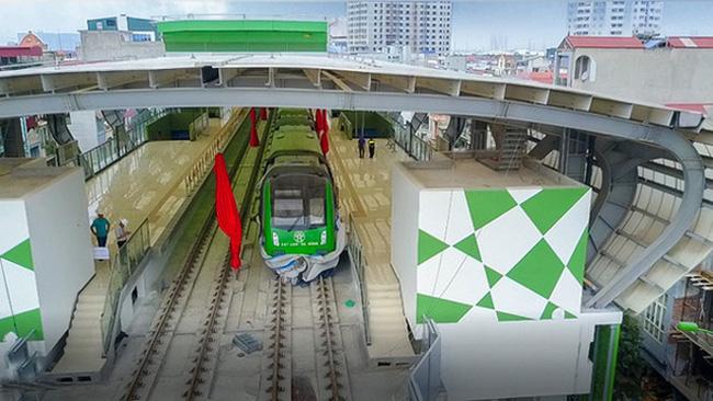 Đường sắt Cát Linh - Hà Đông sẽ chạy 6 phút/chuyến