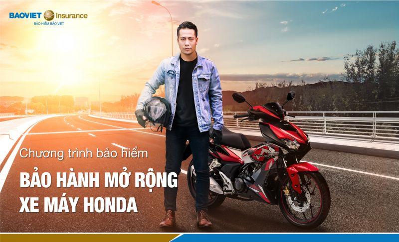 Tăng lợi ích cho khách hàng với gói bảo hành mở rộng xe máy Honda của Bảo hiểm Bảo Việt