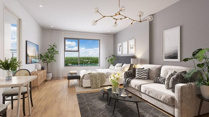 Thiết kế căn hộ phong cách nội thất Scandinavian hiện đại