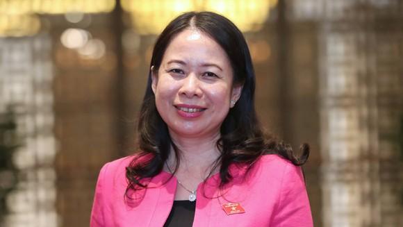 Tân Phó Chủ tịch nước Võ Thị Ánh Xuân.
