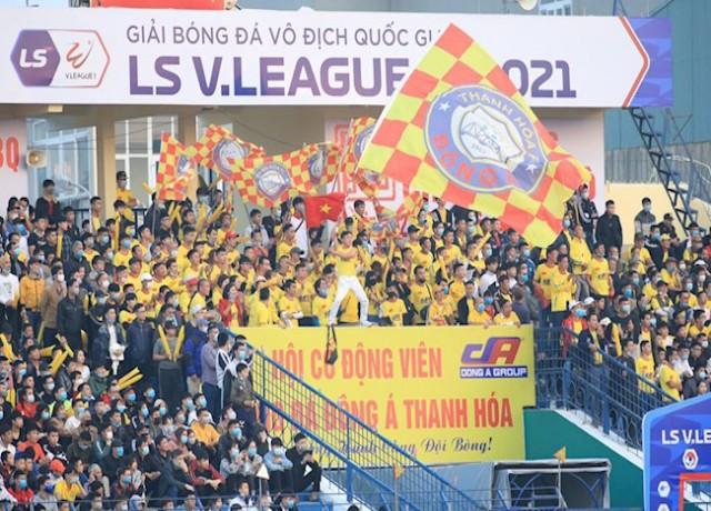 Khán giả sẽ tiếp lửa cho đội bóng xứ Thanh ngay trên sân nhà tại vòng 8 V.League