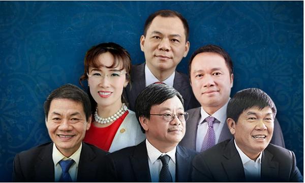 6 tỷ phú Việt Nam nằm trong danh sách của Forbes năm nay