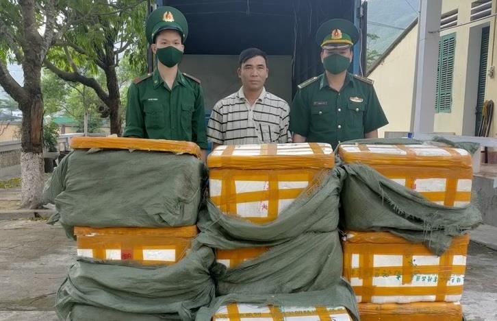 Số nội tạng lợn nhập lậu bị lực lượng chức năng Quảng Ninh phát hiện và bắt giữ (Ảnh:baobienphong)