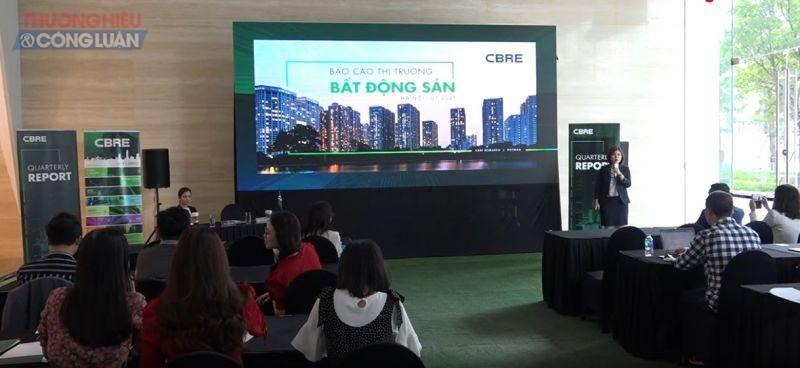 CBRE vừa công bố Báo cáo thị trường BĐS Hà Nội trong quý 1/2021.